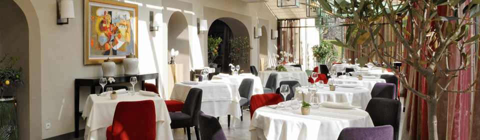 L´Orangerie Restaurant. Lorgues, France.